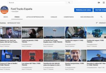 Ford Trucks España lanza su nuevo canal de YouTube