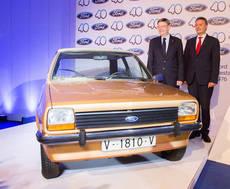Primer coche Ford fabricado en Valencia