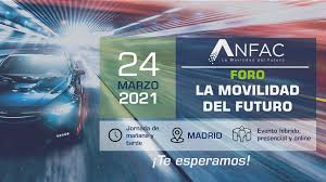 """I Foro Anfac """"La Movilidad del Futuro"""", el 24"""
