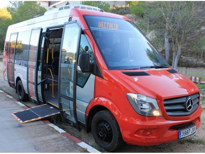La línea 4 del autobús urbano de Alcoy llega a los nuevos Juzgados
