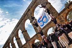 FM Logistic conmemora su 50 aniversario con un castell