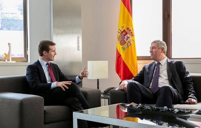 El presidente de Anfac se reúne con Pablo Casado