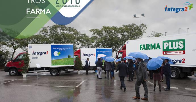 Integra2 presenta su flota ECO sostenible en su Encuentro Farma 2016