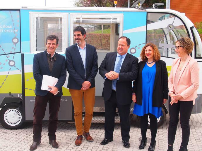 El primer servicio de España con autobuses automatizados comienza en Guipúzcoa