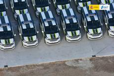 La DGT invierte más de 6 millones en furgonetas