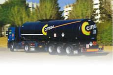 Camión de la empresa Citesa.
