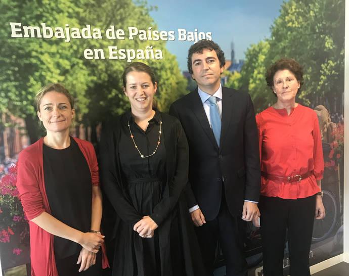 Atfrie se reúne con representantes de la Embajada de Holanda