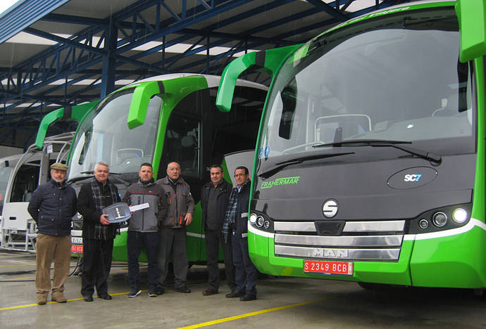 Autocares Frahermar decide llevar a cabo la compra de dos SC7 de Sunsundegui