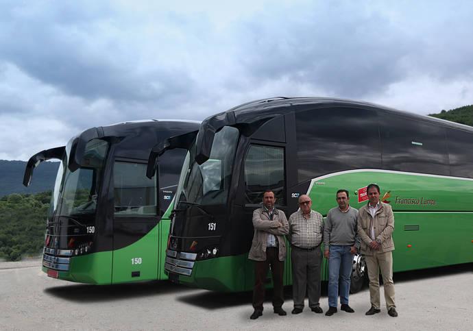 Autocares Francisco Larrea adquiere un SC7 y un SC5 de Sunsundegui