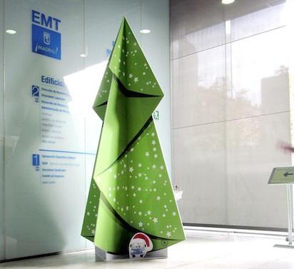 Cambios horarios en la EMT durante la Navidad