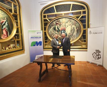 La Fundación Michelin firma un acuerdo de compromiso social