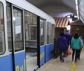 El uso del funicular del Bulnes crece un 8%