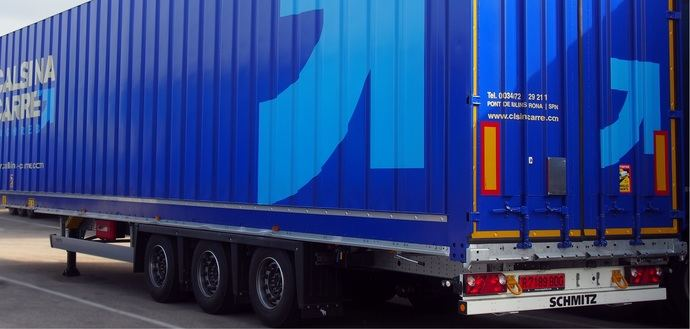 Calsina Carré incorpora nuevos furgones de Schmitz Cargobull