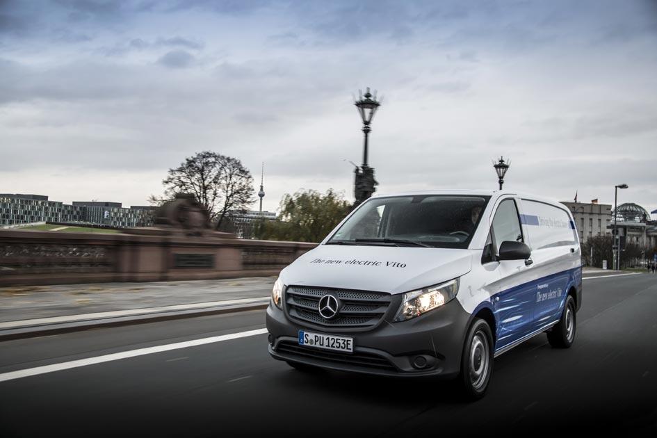 Mercedes Benz Vans presenta eVito, su modelo de furgoneta eléctrica, disponible para 2018