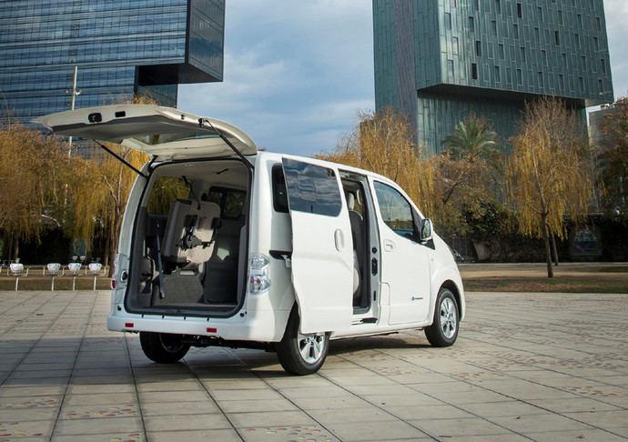 La Nissan e-NV200, la furgoneta más vendida en España