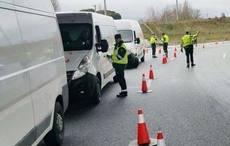 Los accidentes en furgoneta aumentan un 41%