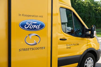 Ford crea su primera furgoneta de reparto eléctrica para DHL, StreetScooter Work XL
