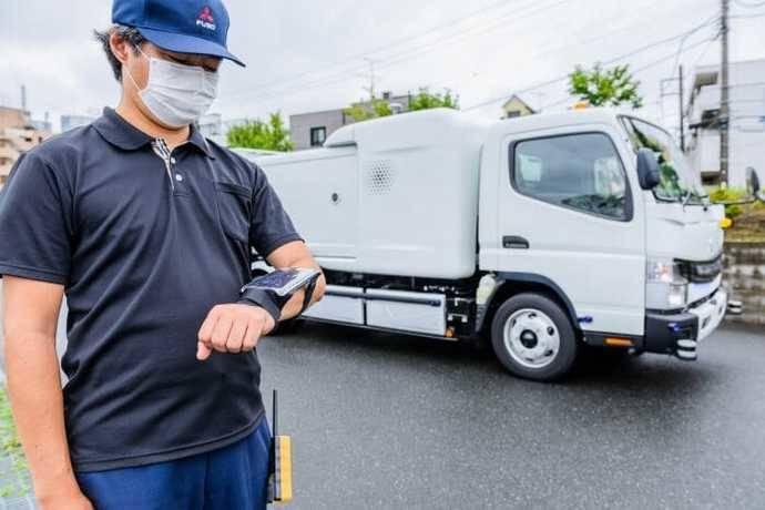 Fuso-Daimler: camión eCanter SensorCollect para la basura