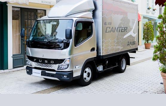 Mitsubishi Fuso estrena el nuevo camión ligero Canter en Japón