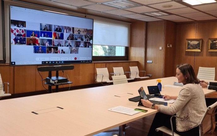 España defiende los certificados de movilidad para reiniciar los viajes internacionales