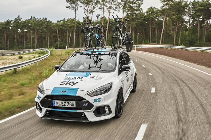 Dos años más de colaboración con el Equipo Ciclista Team Sky para Ford