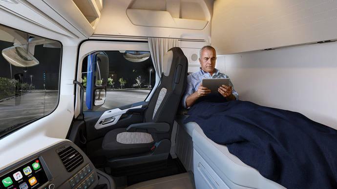 Ford F-Max de 2,5 metros, diseñado para lograr un mayor confort y habitabilidad
