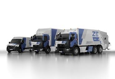 Renault Trucks amplía la oferta de su gama Z.E. 100% eléctrica