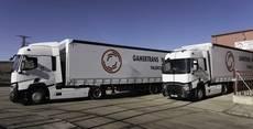 La flota de Gamertrans Norte, con la gama T de Renault Trucks