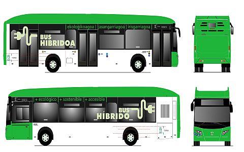 Nuevos autobuses Tuvisa serán verdes y tendrán mensaje 'Bus Híbrido'