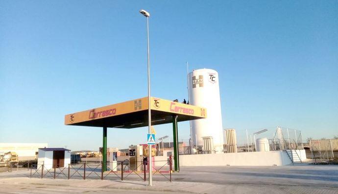 Gasineras HAM, con nueva estación GNL en Madrid