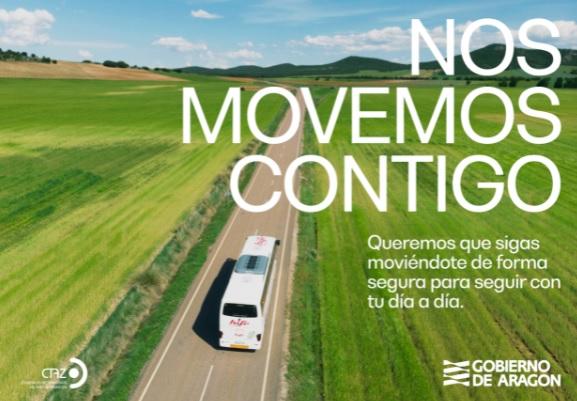 Se reestablecen el 100% de los servicios de transporte por autobús en Aragón