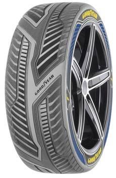 Goodyear presenta un prototipo de neumático para vehículos autónomos