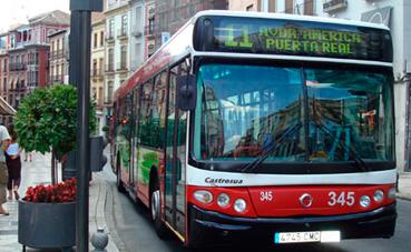 Granada estrena un nuevo plano de autobuses urbanos