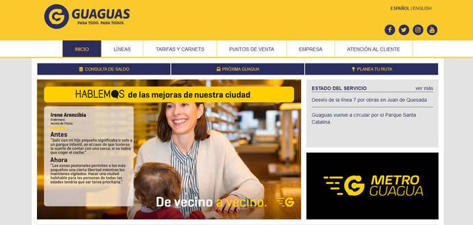 Guaguas.com, más de 4,6 millones de visitas en 2017