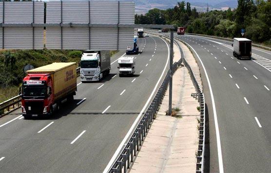 Guitrans defiende el carácter esencial del transporte de mercancías por carretera
