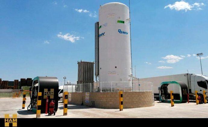Grupo HAM instala e inaugura su gasinera fija GNC GNL en Riba-Roja de Túria, Valencia