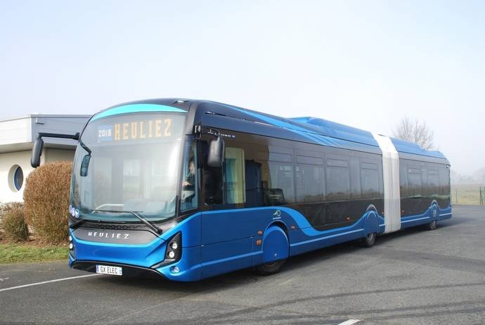 Heuliez producirá 500 autobuses en 2020, un tercio serán eléctricos