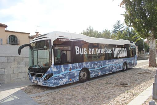 Avanza muestra en Ávila el Volvo 7900 Híbrido