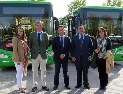 La Comunidad de Madrid incorpora 4 autobuses híbridos en Boadilla del Monte