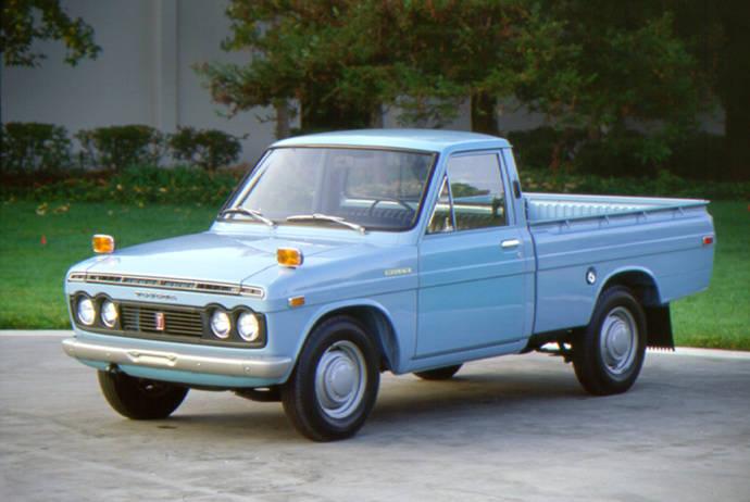 Toyota Hilux cumple 50 años desde su presentación en 1968