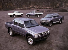 Toyota Hilux de 8º generación.