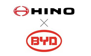 Vehículos eléctricos Hino con baterías comerciales BYD