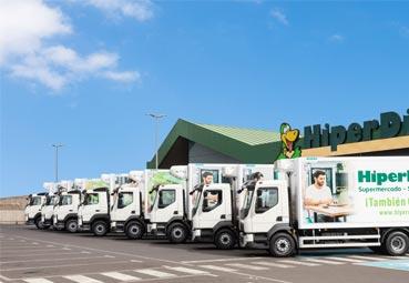 Dinosol renueva su flota de camiones de la mano de Volvo Trucks