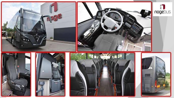 Hispabus obtiene un vehículo Touring HDH de Nogebus