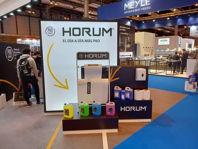 PRO Service presenta su marca de consumibles Horum, en Motortec