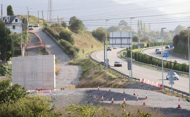 El avance de las obras de los accesos al Hospital de Asturias obliga a realizar nuevos cortes de tráfico