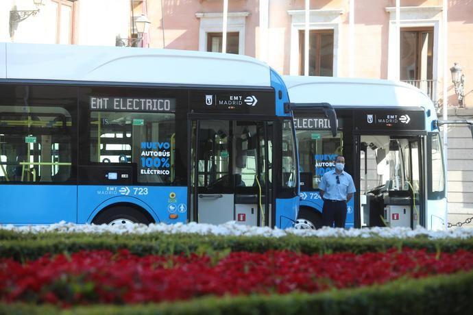 Madrid: 83 millones a la adquisición de 246 buses no contaminantes EMT