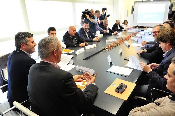 Comisión del Plan de transporte metropolitano de A Coruña acuerda renovar para 2018