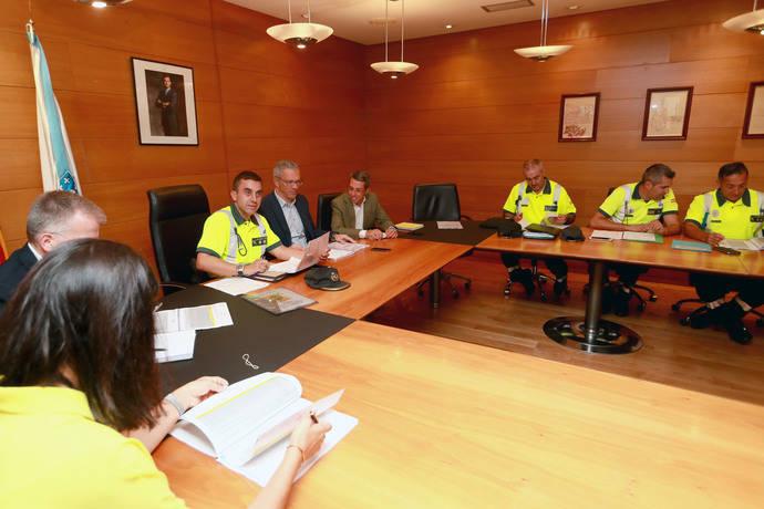 Xunta y Guardia Civil coordinan plan de inspección de transporte escolar