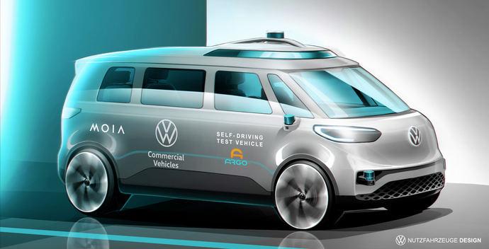 Volkswagen comerciales y ARGO AI empiezan los testeos internacionales de self-driving